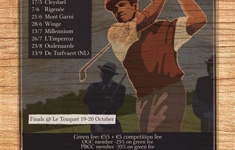 Open Golf Club Trophy